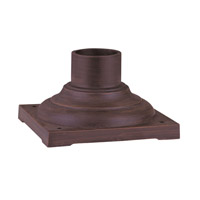 Livex Lighting Outdoor Accessory Outdoor Pier Mount Adaptor in Imperial Bronze 7715-58