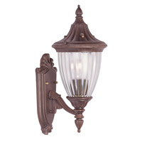 Livex Lighting Townsend 1 Light Outdoor Wall Lantern in Imperial Bronze 7780-58