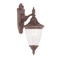 Livex Lighting Townsend 1 Light Outdoor Wall Lantern in Imperial Bronze 7781-58