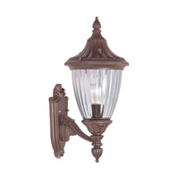 Livex Lighting Townsend 1 Light Outdoor Wall Lantern in Imperial Bronze 7782-58