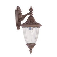Livex Lighting Townsend 1 Light Outdoor Wall Lantern in Imperial Bronze 7783-58