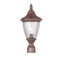 Livex Lighting Townsend 1 Light Outdoor Post Head in Imperial Bronze 7785-58 photo thumbnail