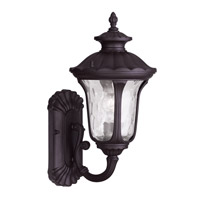Livex 7850-07 Oxford 1 Light 16 inch Bronze Outdoor Wall Lantern
