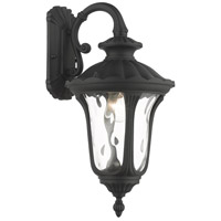 Textured Black Oxford Outdoor Wall Lights