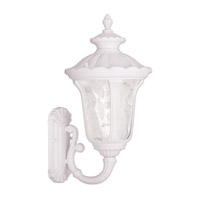 Oxford 1 Light 18 inch White Outdoor Wall Lantern