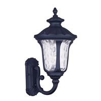 Livex Lighting Oxford 1 Light Outdoor Wall Lantern in Black 7852-04