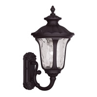 Oxford 1 Light 18 inch Bronze Outdoor Wall Lantern