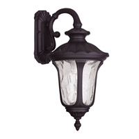 Livex 7853-07 Oxford 1 Light 19 inch Bronze Outdoor Wall Lantern