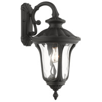 Livex 7853-14 Oxford 1 Light 19 inch Textured Black Outdoor Wall Lantern