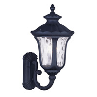 Livex Lighting Oxford 3 Light Outdoor Wall Lantern in Black 7856-04