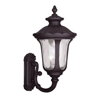 Livex Lighting Oxford 3 Light Outdoor Wall Lantern in Bronze 7856-07