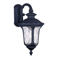 Livex Lighting Oxford 3 Light Outdoor Wall Lantern in Black 7857-04