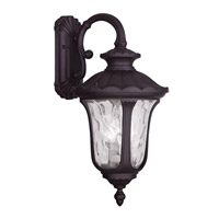 Livex Lighting Oxford 3 Light Outdoor Wall Lantern in Bronze 7857-07