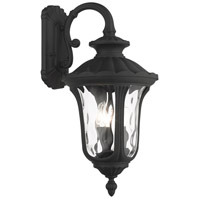 Livex Lighting 7857-14 Oxford 3 Light 23 inch Textured Black Outdoor Wall Lantern