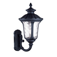 Livex Lighting Oxford 3 Light Outdoor Wall Lantern in Black 7862-04