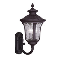 Livex Lighting Oxford 3 Light Outdoor Wall Lantern in Bronze 7862-07