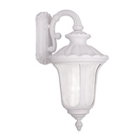 Oxford 3 Light 28 inch White Outdoor Wall Lantern