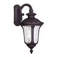 Oxford 3 Light 28 inch Bronze Outdoor Wall Lantern