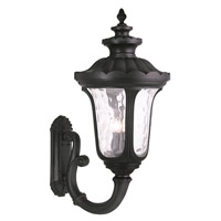 Livex Oxford 4 Light Outdoor Wall Lantern in Black 78700-04