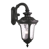 Oxford 4 Light 35 inch Black Outdoor Wall Lantern