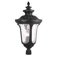 Livex Oxford 4 Light Outdoor Post Light in Black 78702-04