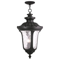 Livex 78703-04 Oxford 4 Light 17 inch Black Outdoor Chain Hang Lantern