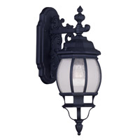 Livex Lighting Frontenac 1 Light Outdoor Wall Lantern in Black 7901-04