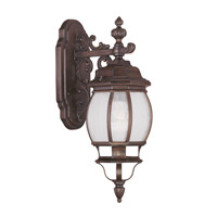 Livex Lighting Frontenac 1 Light Outdoor Wall Lantern in Imperial Bronze 7901-58