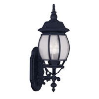 Livex Lighting Frontenac 3 Light Outdoor Wall Lantern in Black 7902-04