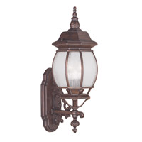 Livex Lighting Frontenac 3 Light Outdoor Wall Lantern in Imperial Bronze 7902-58