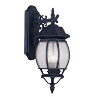 Livex Lighting Frontenac 3 Light Outdoor Wall Lantern in Black 7903-04