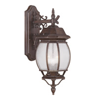 Livex Lighting Frontenac 3 Light Outdoor Wall Lantern in Imperial Bronze 7903-58