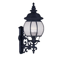 Livex Lighting Frontenac 4 Light Outdoor Wall Lantern in Black 7904-04