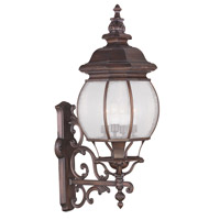 Livex Lighting Frontenac 4 Light Outdoor Wall Lantern in Imperial Bronze 7904-58
