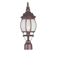 Livex Lighting Frontenac 1 Light Outdoor Post Head in Imperial Bronze 7905-58