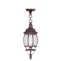 Livex Lighting Frontenac 1 Light Outdoor Hanging Lantern in Imperial Bronze 7906-58