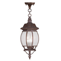 Livex Lighting Frontenac 3 Light Outdoor Hanging Lantern in Imperial Bronze 7908-58