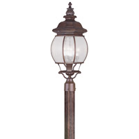 Livex Lighting Frontenac 4 Light Outdoor Post Head in Imperial Bronze 7909-58