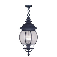Livex Lighting Frontenac 4 Light Outdoor Hanging Lantern in Black 7910-04