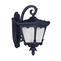 Livex Lighting Millstone 1 Light Outdoor Wall Lantern in Black 7981-04