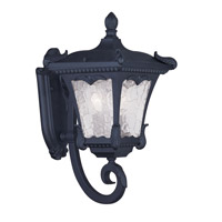Livex Lighting Millstone 2 Light Outdoor Wall Lantern in Black 7982-04