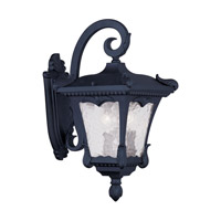 Livex Lighting Millstone 2 Light Outdoor Wall Lantern in Black 7983-04