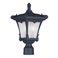 Livex Lighting Millstone 2 Light Outdoor Post Head in Black 7984-04