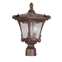 Livex Lighting Millstone 2 Light Outdoor Post Head in Imperial Bronze 7984-58
