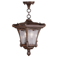 Livex Lighting Millstone 2 Light Outdoor Hanging Lantern in Imperial Bronze 7985-58