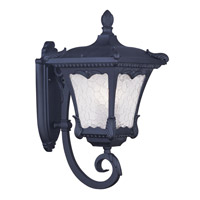 Livex Lighting Millstone 3 Light Outdoor Wall Lantern in Black 7986-04