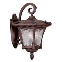 Millstone 3 Light 21 inch Imperial Bronze Outdoor Wall Lantern