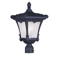 Livex Lighting Millstone 3 Light Outdoor Post Head in Black 7988-04