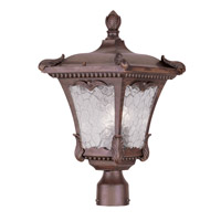 Livex Lighting Millstone 3 Light Outdoor Post Head in Imperial Bronze 7988-58
