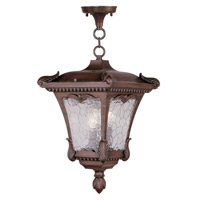 Livex Lighting Millstone 3 Light Outdoor Hanging Lantern in Imperial Bronze 7989-58